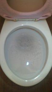 便器の排水不良