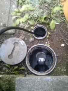 排水管清掃作業